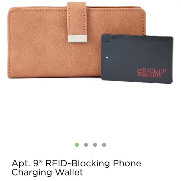 Apt. 9 Handbags - NWT Wallet & Portable Charger